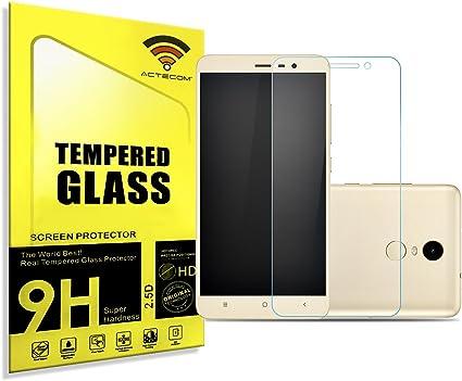 actecom/® Protector Pantalla Cristal Templado Premium Compatible con Samsung Galaxy Note 4