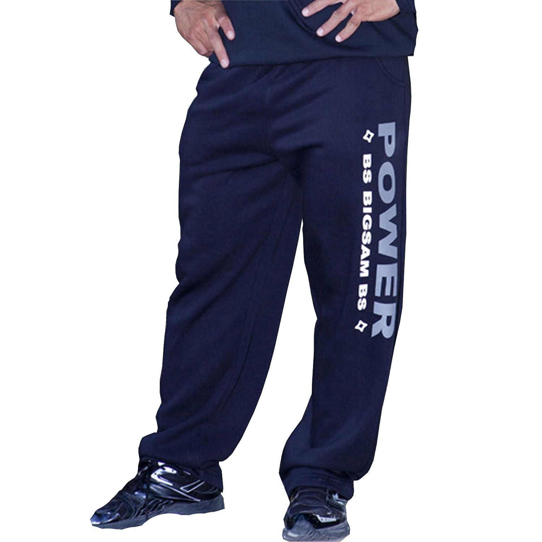 BIG SM EXTREME SPORTSWEAR Herren Bodyhose Jogginghose Sporthose Bodybuilding 980
