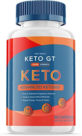 Keto GT Pills Ketogt Advanced Weight Loss Extra Strength Formula Bottle Ketp g t Capsulas Official One Shot Pastillas dr Tablets 800mg BHB Supplement (60 Capsules)