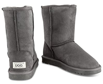 5ce91f57cdf Image Unavailable. Ozwear Connection Unisex Classic 3 4 UGG Boot Charcoal