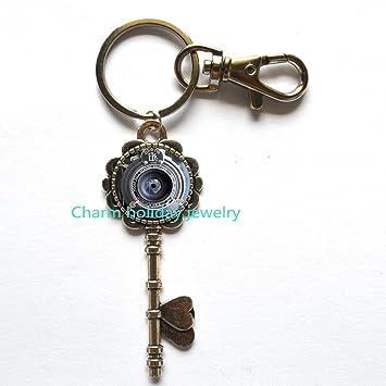 Cámara llavero - fotógrafo regalo clave cadena - Cámara ...