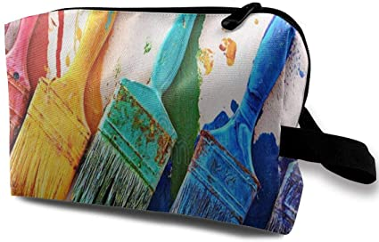 Bolsa de Maquillaje Pinceles Colores para Pintar Paredes ...
