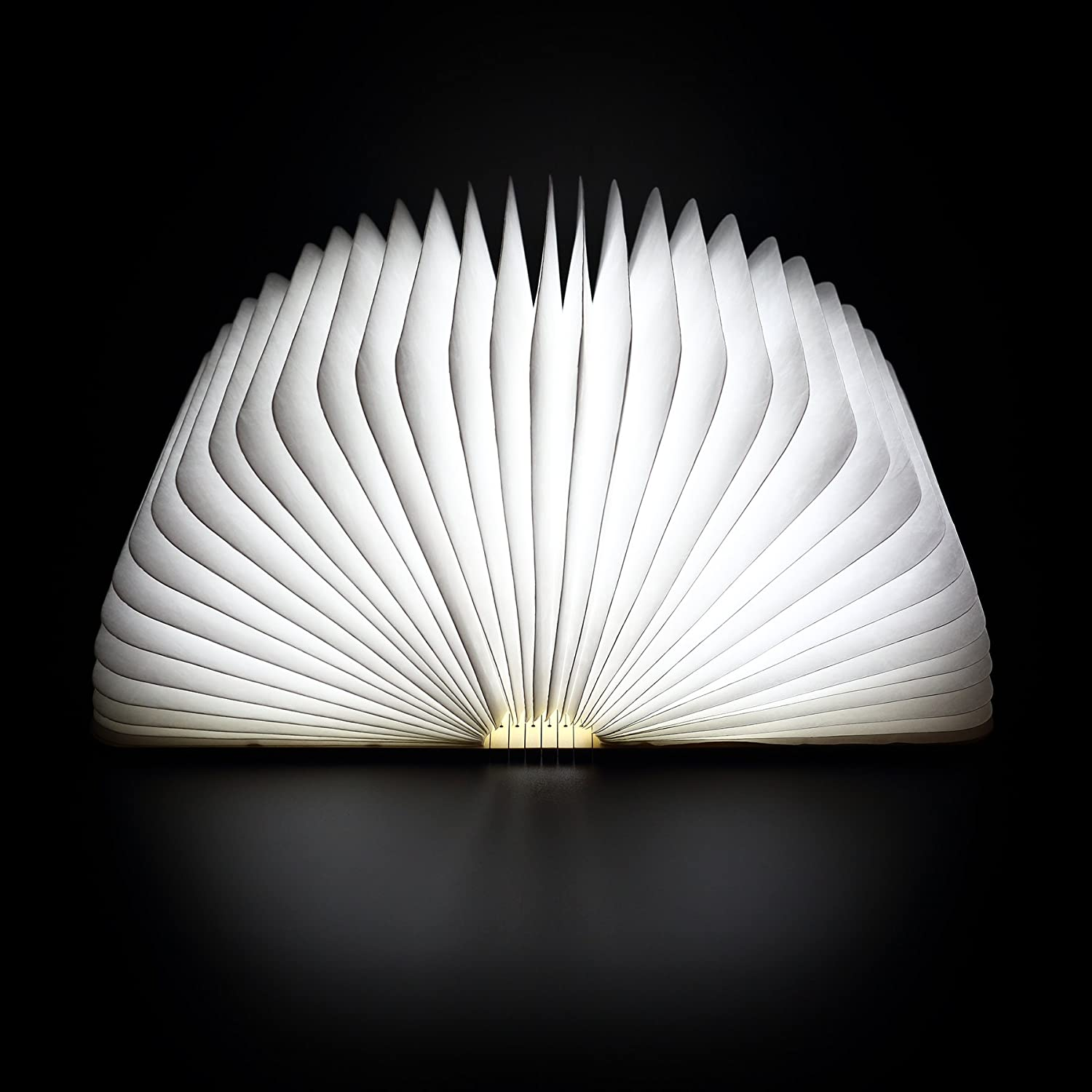 prudance book led light open the cover to enjoy bright 4800k led