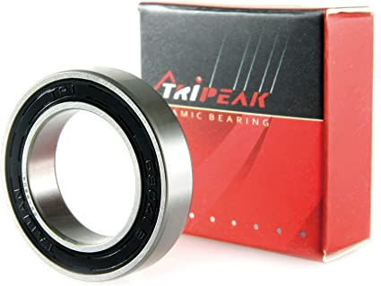 TRiREAK Ceramic Hybrid Bearing Grade 5 Si3N4 #6800 10 x 19 x 5 mm
