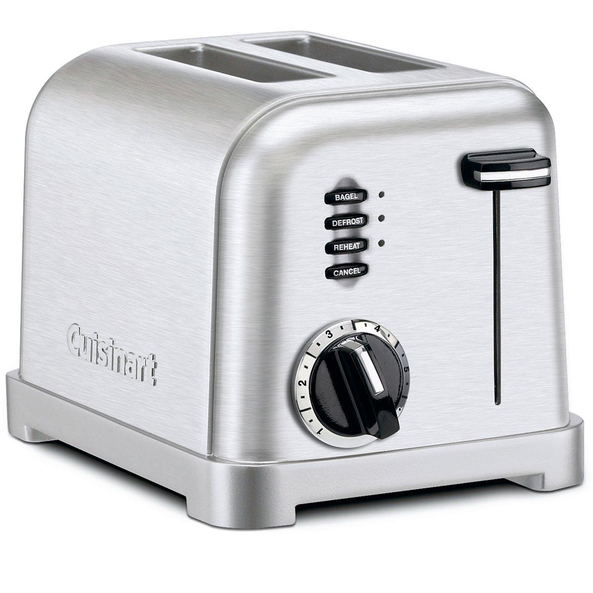 Cuisinart Pro 2 Slice Toaster-brushed