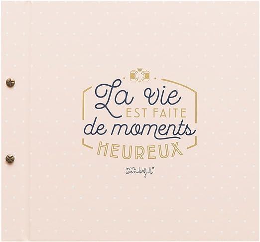 Amazon.com: Mr.Wonderful WOA03527 La Vie Est Faite de ...