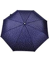 tin.o.o 自動開閉晴雨兼用折り畳み傘 直径98cm (紺)