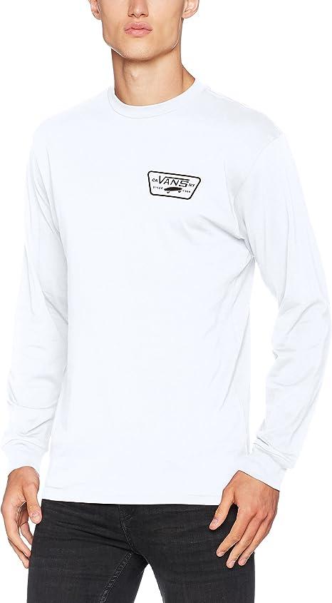 Vans Herren Full Patch Back Ls T Shirt