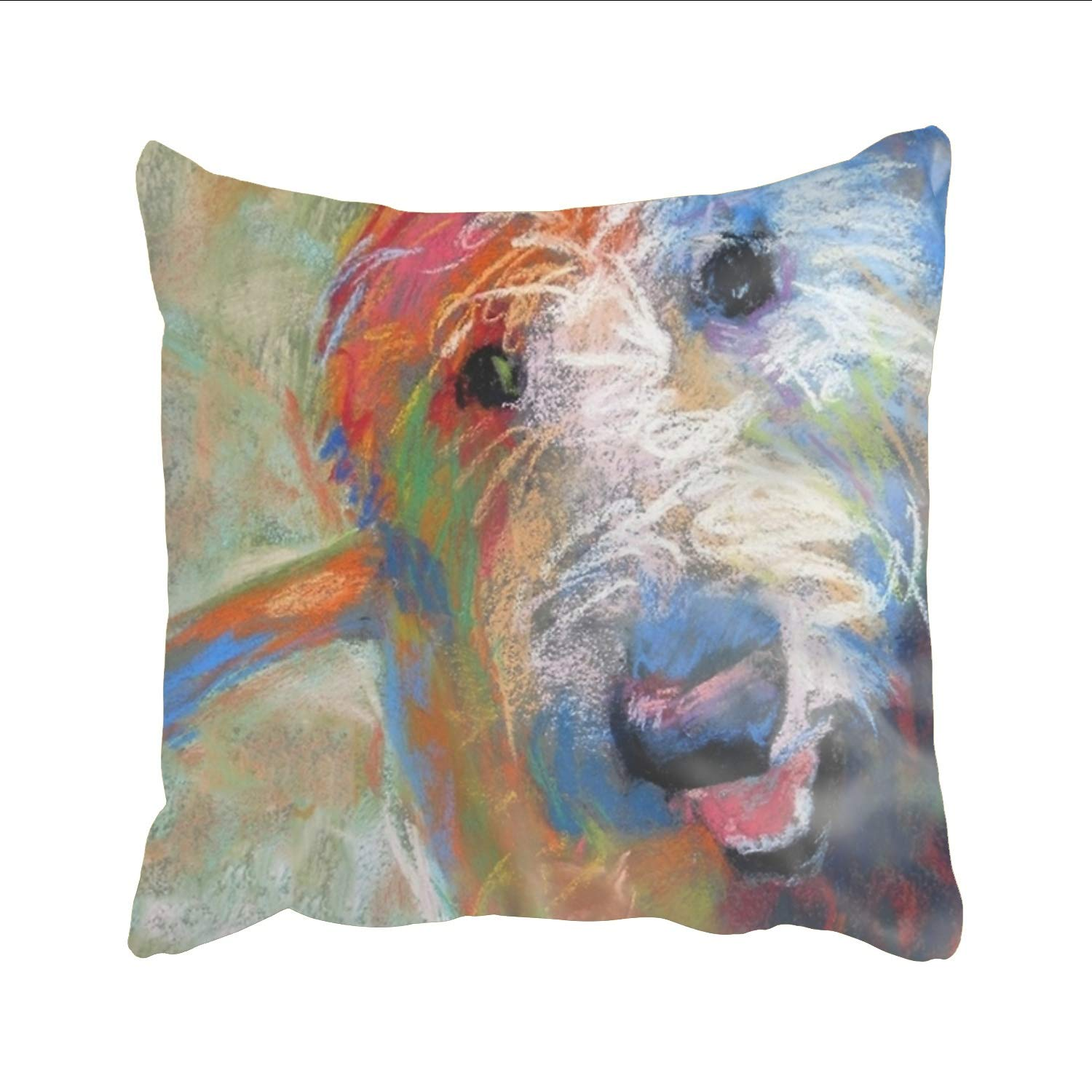 Prime Stahhn Decorative Throw Pillow Covers Couch Sofa Bed 16X16 Inches Modern Designs Blaze The Goldendoodle Dog Pillow Dailytribune Chair Design For Home Dailytribuneorg