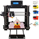 AA+inks A8 3D Drucker Prusa i3 DIY Profi LCD Display 100MM/S MAX DIY 1.75mm ABS PLA Filament 3D Desktop Printer Kit (DIY I3)