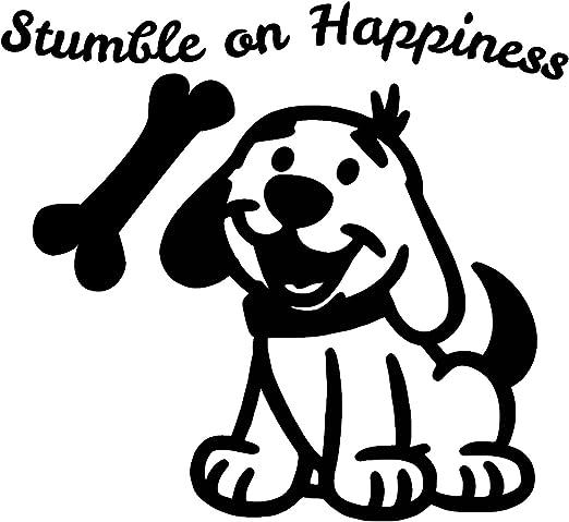 Amazon.com: El arte de pared de perro es colorido vinilo ...