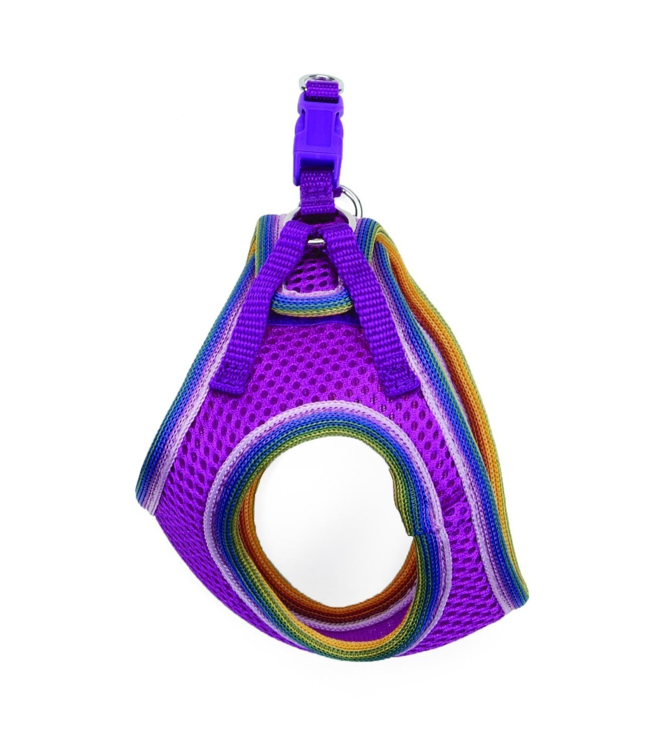 Lil Pals Mesh Comfort Mesh Adjustable Step-in Dog Harness for Puppies and Toy Breeds