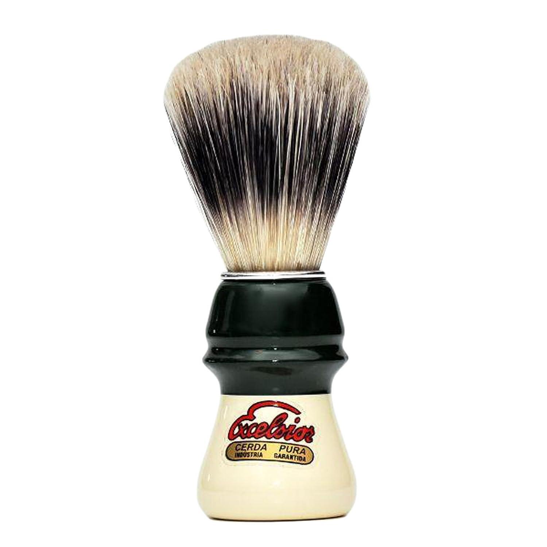 Brocha de Afeitar Semogue 1305 Excelsior Pelo Suave de Pura Cerda Europea Shaving Brush ONOGAL