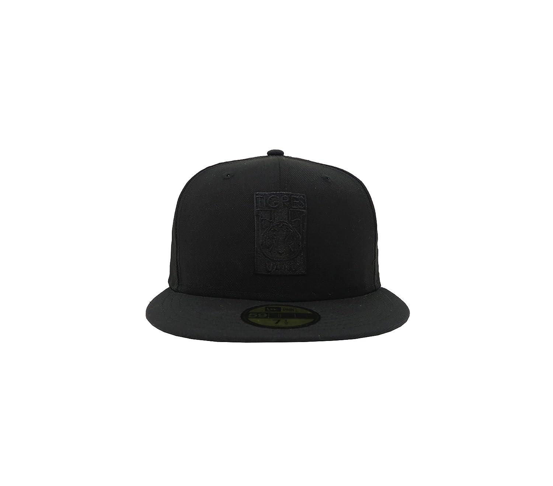 e580784c2c7 New Era 59Fifty Hat Tigres De Monterrey Soccer Club MX League Black Fitted  Cap at Amazon Men s Clothing store