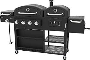 Smoke Hollow Gas Charcoal Smoker Searing BBQ Grill