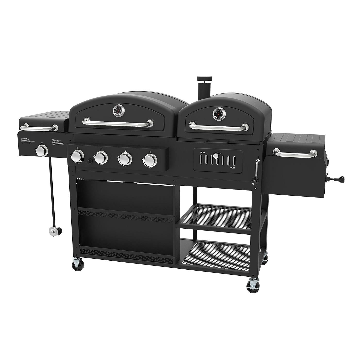 3. Smoke Hollow PS9900 4-in-1 LP Gas Charcoal Smoker Searing BBQ Grill