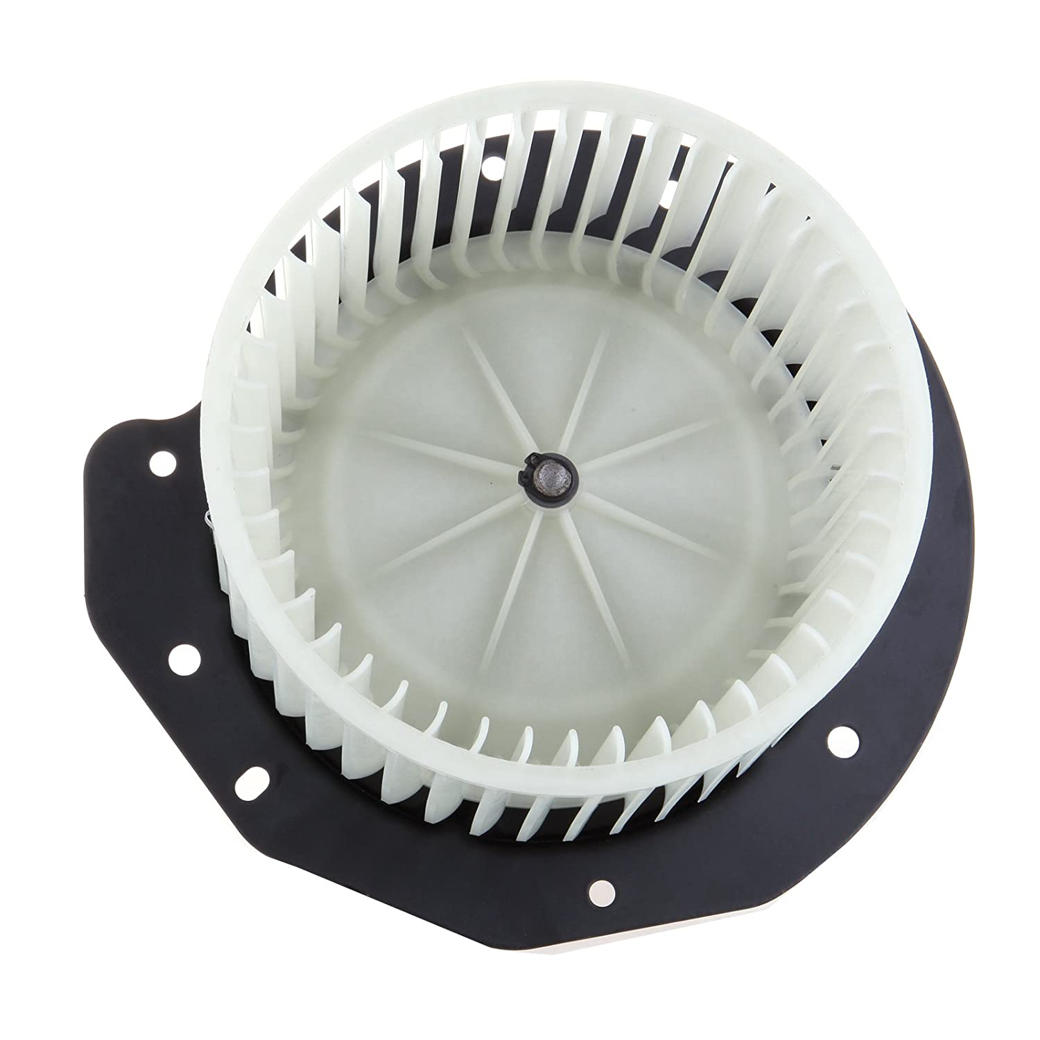 HVAC plastic Heater Blower Motor w/Fan ABS Cage ECCPP fit for 1987-1996 Ford Bronco /1988-1997 Ford F Super Duty /1987-1996 Ford F-150/1987-1996 Ford F-250/1987-1996 Ford F-350 058394-5211-1619311