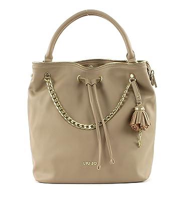 3beab23d38b1 Liu Jo Poppa Handtasche brown brown x  Amazon.fr  Chaussures et Sacs