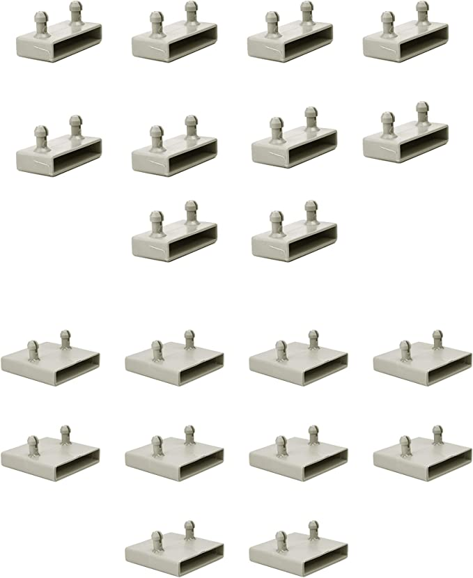 Juego de 40 soportes laterales y 20 centrales de 53 mm para ...
