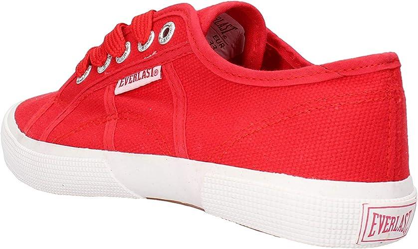 Everlast Niños Zapatillas de Gimnasia Rojo Size: 33 EU: Amazon.es: Zapatos y complementos