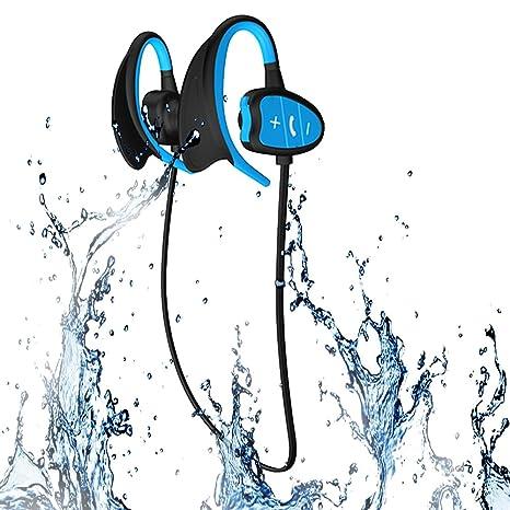 Impermeabile Bluetooth Sport Cuffie IPX8 senza fili Cuffie stereo CSR  Sweatproof Suit per l esercizio e81dcc6f24e0