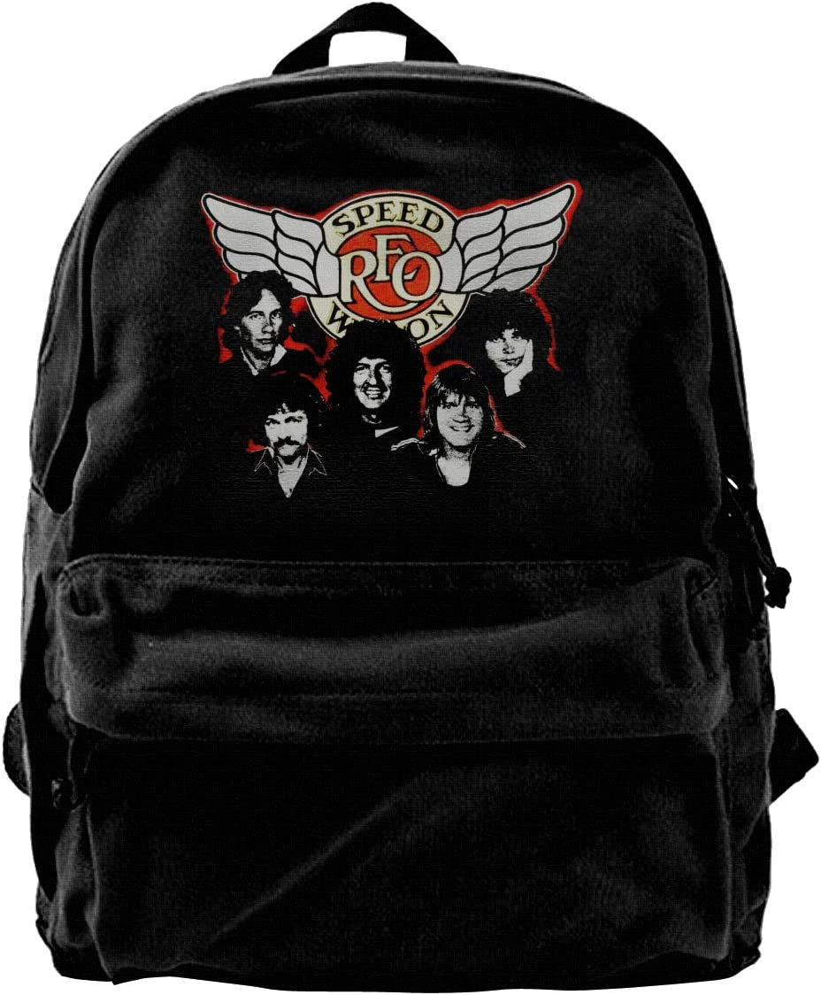 Camping Tourism School Wild Fashion Canvas Reo Speedwagon Backpack