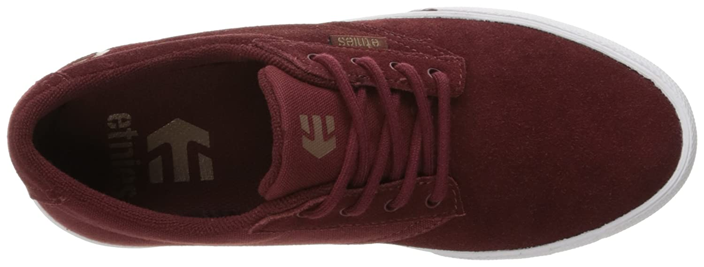Etnies Women's Jameson Vulc Skate Shoe B01DODMLTM 9 B(M) US|Burgundy/Tan/White