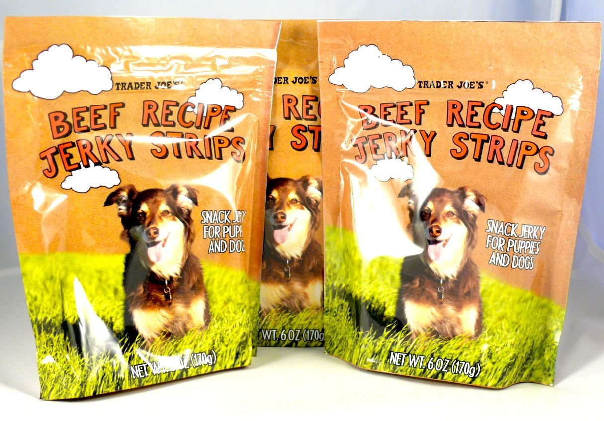 Trader Joe s Beef Recipe Jerky Dog Treats – Made in The USA
