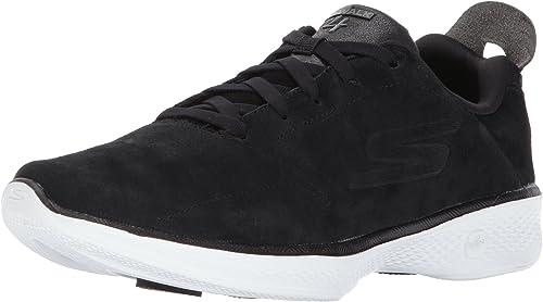 Skechers Damen Go Walk 4 Glorify Sneakers, schwarzweiß, 36 EU