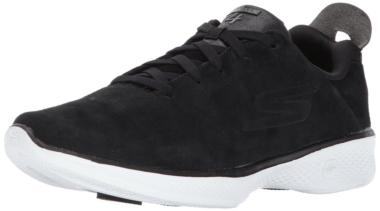 Skechers Damen Go Walk 4 Sneaker, BBK  37.5 EU|Schwarz / Wei?