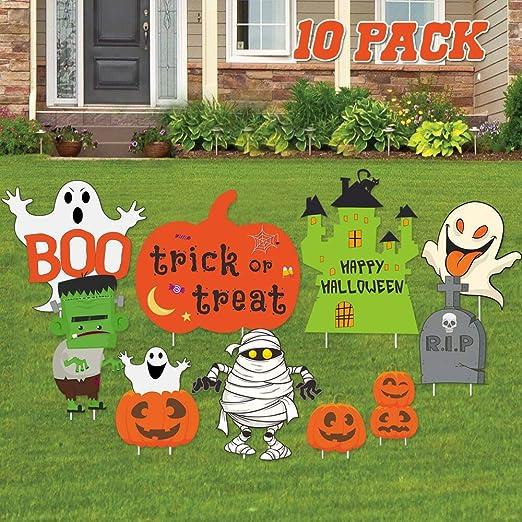 JoyTplay 10 piezas Decoración para Halloween, Decoración de ...
