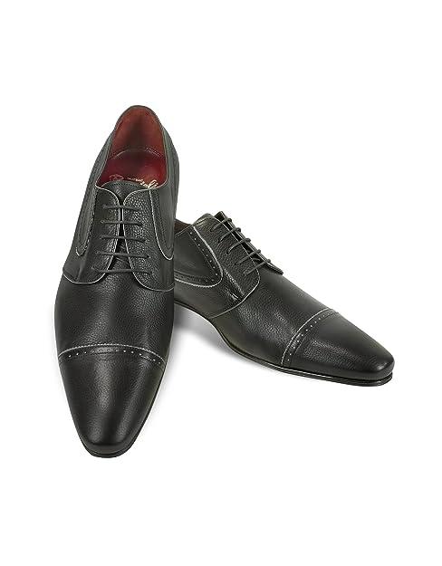 Respirante et confortable Mode Hommes Mocassins en cuir Casual Flat plus Taille 38-48,noir,7,3140_3140