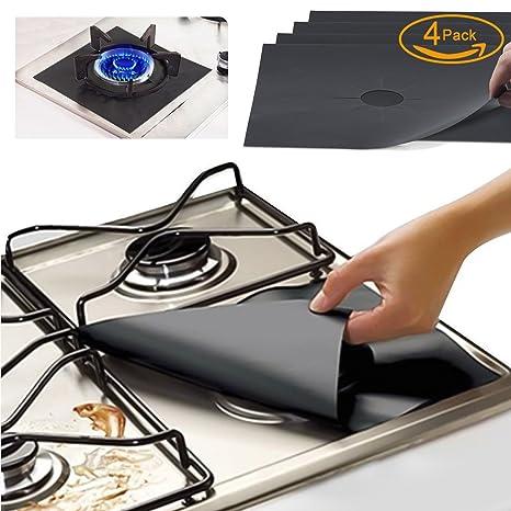 Amazon.com: FORHOMER sbc01 Gas Range Protectors, Kitchen Accessories ...