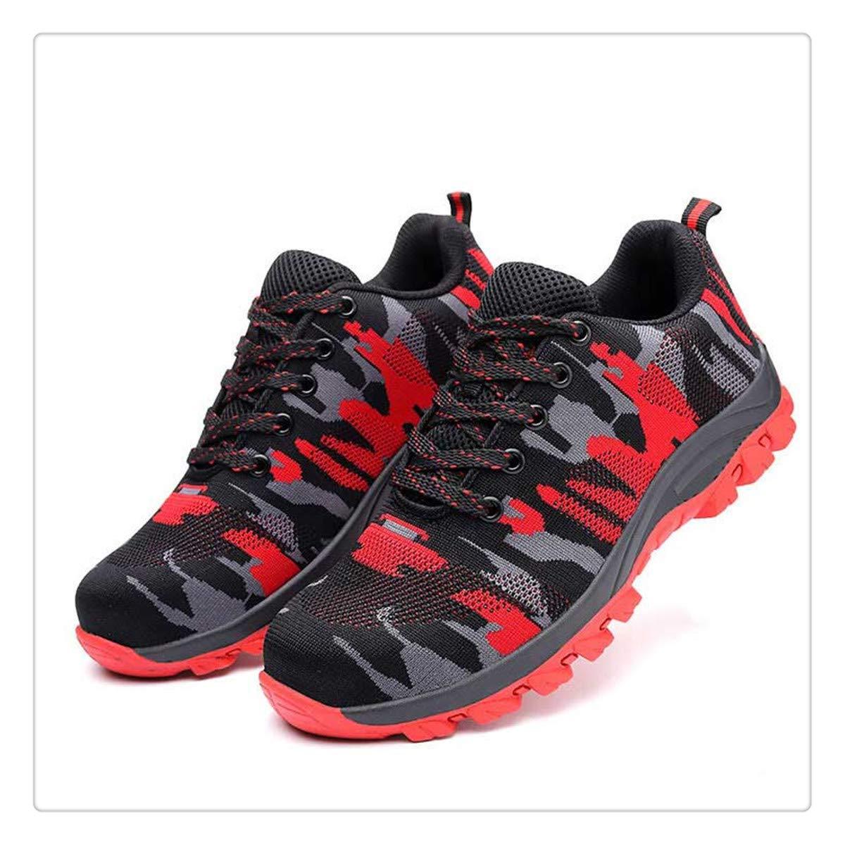 111f1f9b097ff Amazon.com | Uciquzhon Camouflage Steel Toe Shoes Men Work Boots ...