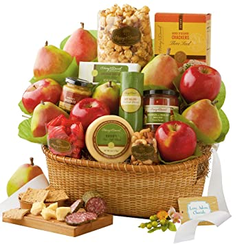 Image Unavailable. Image not available for. Color: Harry & David Wedding Gift Basket