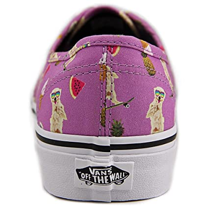 21f12478ea ... Vans Authentic (Pool Vibes) African Viol  Skateboarding Dogs-Women s  Size 9.5 ...