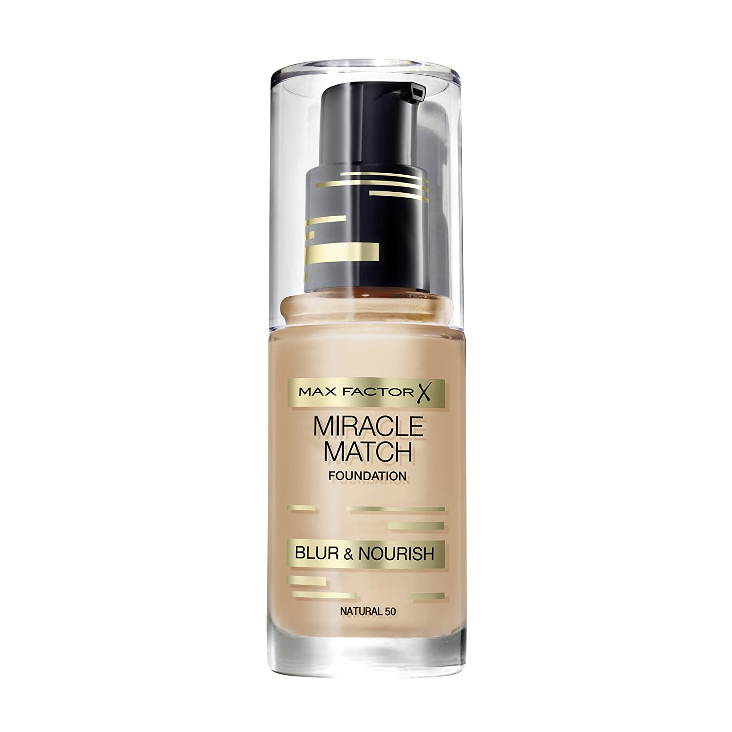 Max Factor Miracle Match Foundation 60 sand, 1er Pack (1 x 30 g) 81507984
