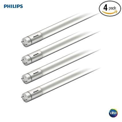 Philips LED MainsFit Ballast Bypass 2-Foot T8 Tube Glass Light Bulb:  1100-Lumen, 4000-Kelvin, 8 5 (17-Watt Equivalent), Medium Bi-Pin G13 Base,