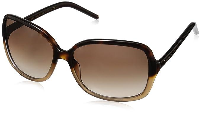 marc jacobs sunglasses  Amazon.com: Marc Jacobs Women\u0027s Marc68s Square Sunglasses, Beige ...
