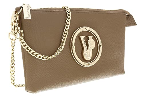02e9a065f381 Amazon.com  Versace EE3VSBPV3 E148 Taupe VJ Pouch Wallet for Womens ...