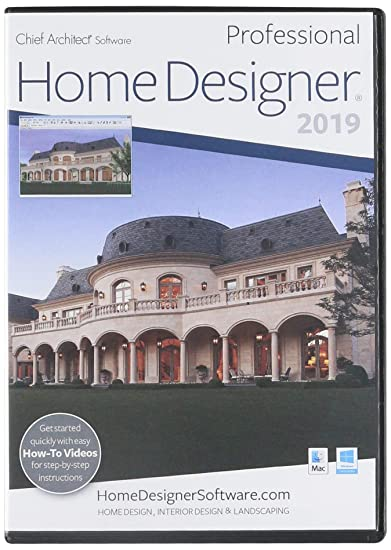 Amazon Com Chief Architect Home Designer Pro 2019