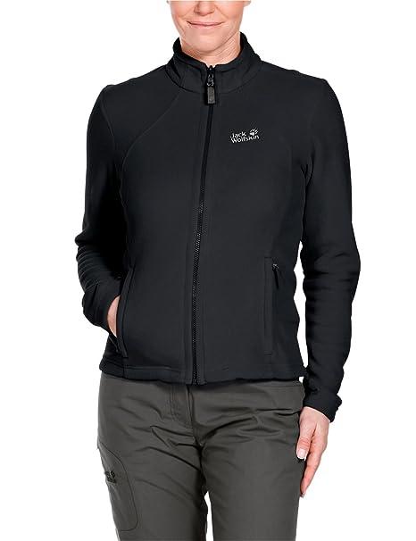 een paar dagen weg de beste nieuwe uitstraling Jack Wolfskin Damen Fleece Jacke Moonrise Jacket