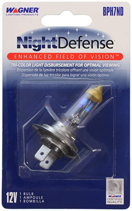 Wagner H7 NightDefense Replacement Bulb, (Pack of 1)