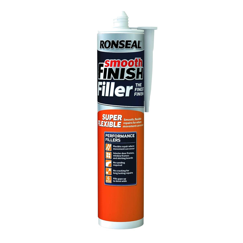 Ronseal RSLSFF300ML - Sellador acrí lico (300 ml, conserva la flexibilidad) RSLSFF300ML-TB