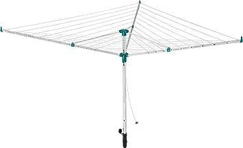 LEIFHEIT Linotrend 500 Tendedero giratorio Verde, Acero inoxidable - Secadora de ropa (1 pieza(s))