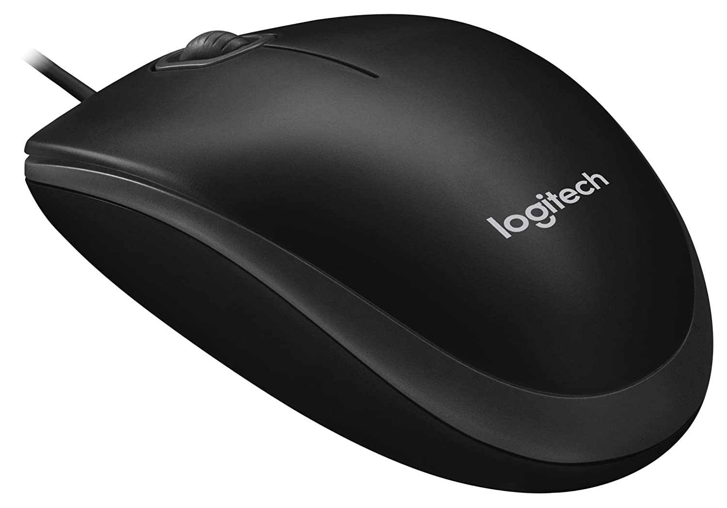 Buy Logitech B100 Optical Mouse Black Online At Low Computer Parts Labeled Inside A Diagram For Kids Prices In India Reviews Ratings