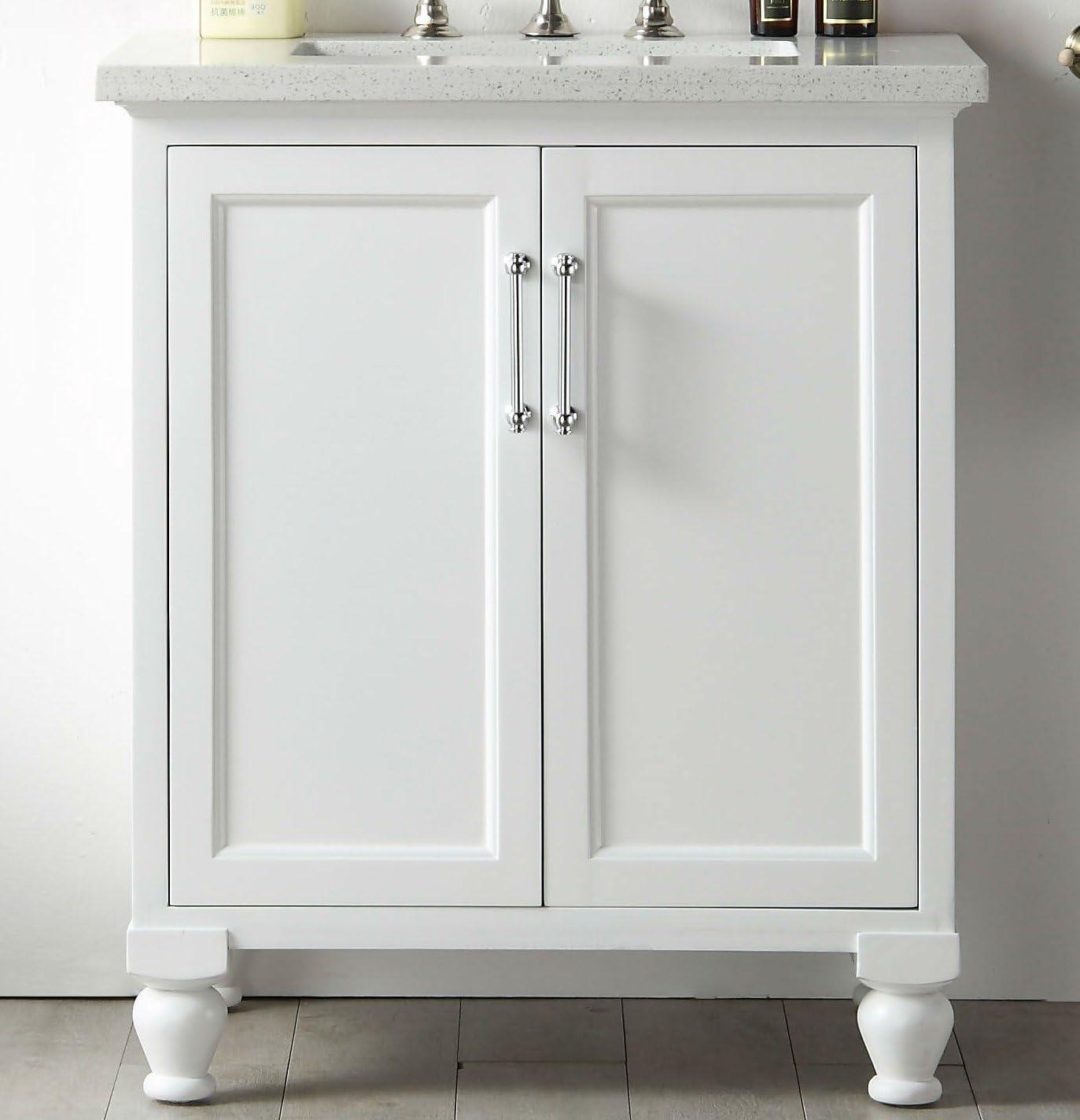 Legion Furniture WH7530-W 30″ wood sink vanity
