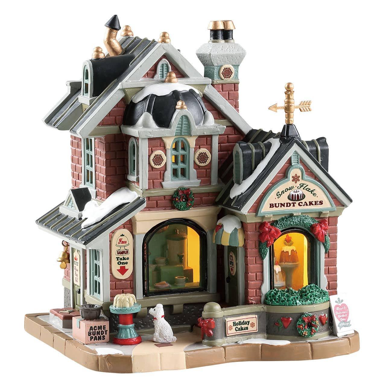Lemax Village Collection Flocon de Neige gâteaux Kouglof # 85365