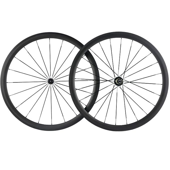 Amazon.com: Superteam – Rueda de bicicleta Clincher 700C de ...