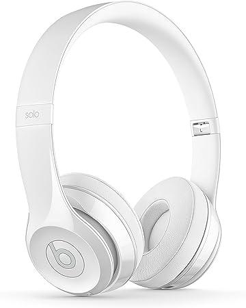 Beats Solo 3 - Auriculares inalámbricos, Color Blanco: Amazon.es: Electrónica